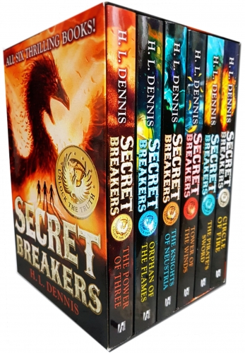 Secret Breakers Series Collection H.L Dennis 6 Books Collection Box Set (Power of Three, Orphan of the Flames, Knights of Neustria, Tower of Winds) by H.L Dennis