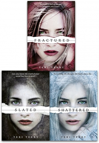 Teri Terry Slated Trilogy 3 Books Collection Set Slated Fractured Shattered by Teri Terry