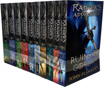 John Flanagan Rangers Apprentice Series Collection - 9789526521053, 978-9526521053