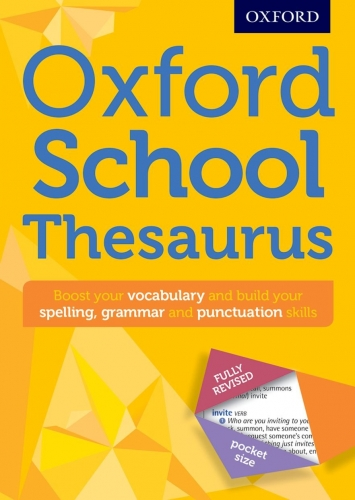 Oxford School Thesaurus -9780192747112, 978-0192747112