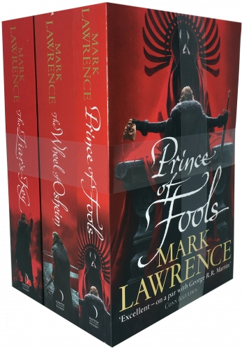 Mark Lawrence Red Queens War Collection 3 Books Set by Mark Lawrence