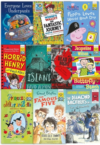 World Book Day Collection 10 Books Set The Big World Book Day Prize Winner by Various
