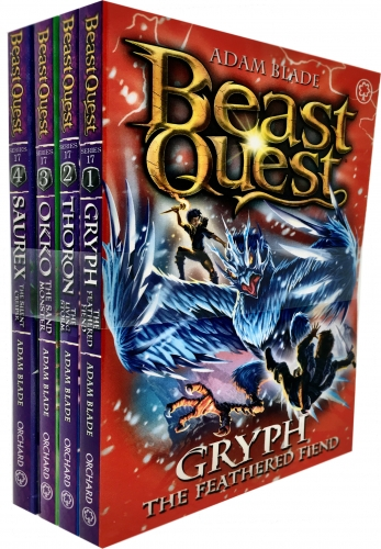 Beast Quest Series 17 The Broken Star 4 Books Collection Set Pack By Adam Blade by Adam Blade