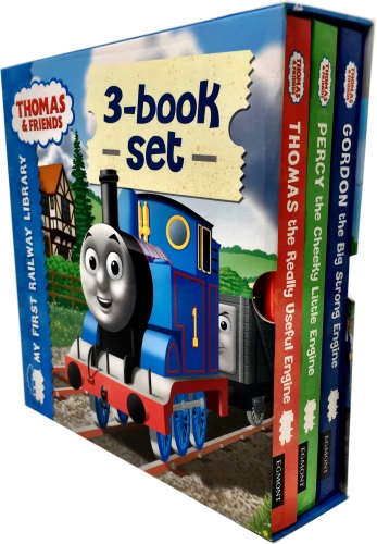 Thomas and Friends My First Railway Library Collection 3 Books Box Set by Thomas & Friends