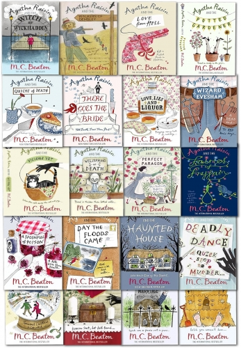 Agatha Raisin Series Collection M C Beaton 20 Books Set by M C Beaton