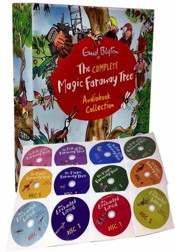 Magic Faraway Tree Audio Collection 12 CDs Box Set by Enid Blyton by