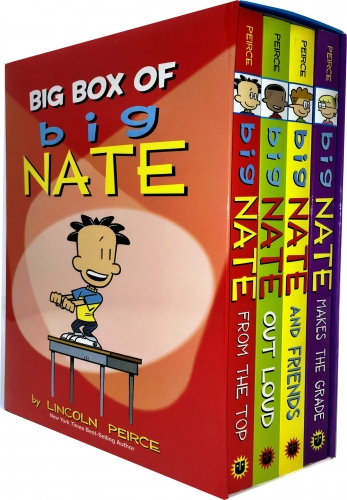 Big Box of Big Nate Collection 4 Books Box Set By Lincoln Peirce by Lincoln Peirce
