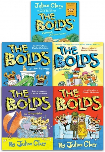 Julian Clary Bolds 5 Books Collection Set by Julian Clary