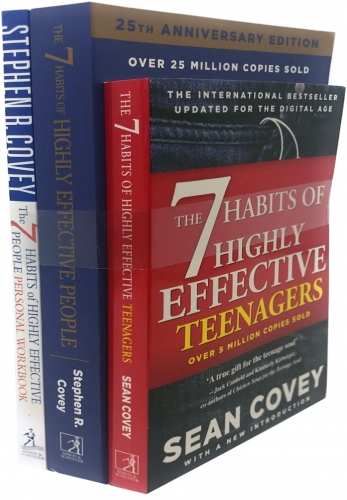 Stephen R.Covey 3 Books Collection Set (The 7 Habits of Highly Effective People) by Stephen R.Covey