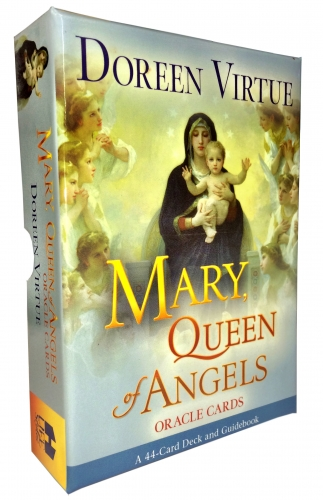 Mother Mary, Queen of Angels Tarot Cards Oracle Deck Doreen Virtue Psychic Read by Doreen Virtue