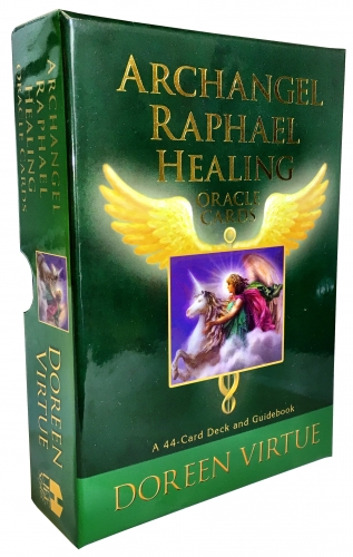 Archangel Raphael Healing Oracle Tarot Cards Deck Doreen Virtue Psychic Reading by Doreen Virtue