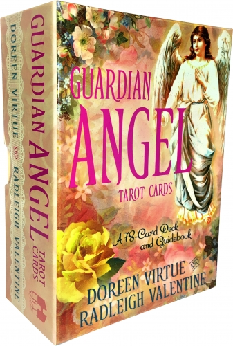 guardian angel tarot cards a 78 card deck and guidebook