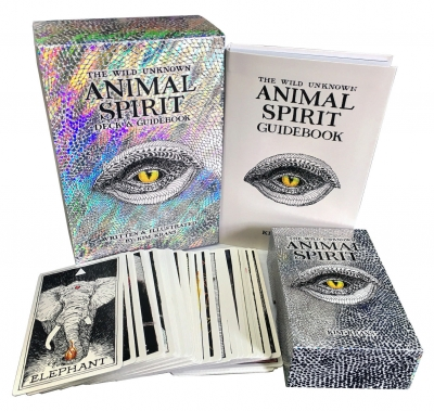 The Wild Unknown Animal Spirit Deck and Guidebook - Official Keepsake Box Set by Kim Krans