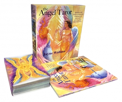 The Angel Tarot Cards Box Gift set by Jayne Wallace by Jayne Wallace