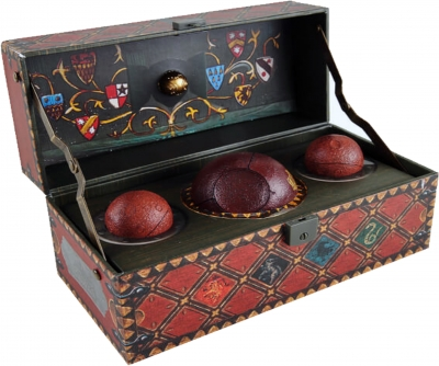 Harry Potter: Collectible Quidditch Set by