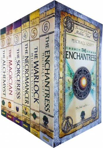 The Secrets of the Immortal Nicholas Flamel 6 Books Collection Set The Alchemyst, The Magician, The Sorceress, The Necromancer, Warlock, Enchantress by Michael Scott