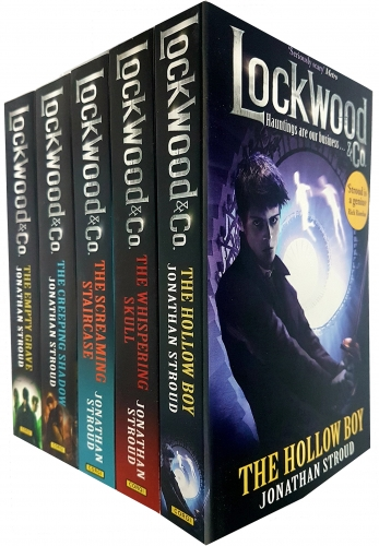 Jonathan Stroud Lockwood and Co Series 5 Books Collection Set by Jonathan Stroud