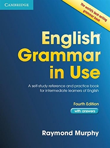 English Grammar in Use Book with Answers A Self-Study Reference and Practice Book for Intermediate Learners of English Textbook Binding by Raymond Murphy