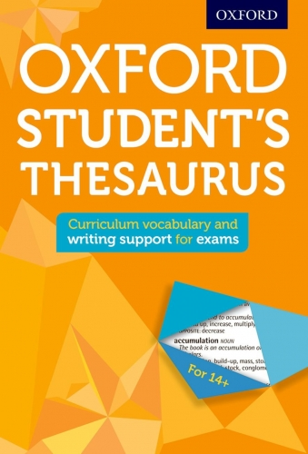 Oxford Students Thesaurus by Oxford Dictionaries