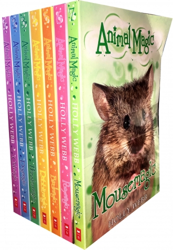 Animal Magic Story Collection Holly Webb 7 Books Set (Catmagic, Dogmagic, Hamstermagic, Rabbitmagic, Birdmagic, Ponymagic, Mousemagic) by Holly Webb