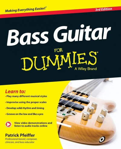 Bass Guitar For Dummies by Patrick Pfeiffer