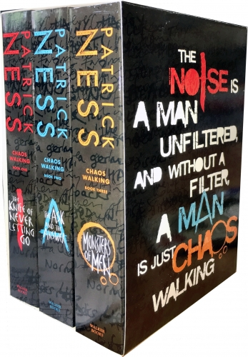 Chaos Walking Trilogy Series Collection Patrick Ness 3 Books Box Set by Patrick Ness