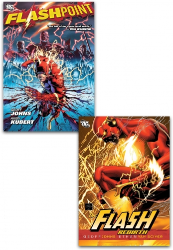 DC Comics Flashpoint Collection 2 Books Set By Geoff Johns Flash Rebirth