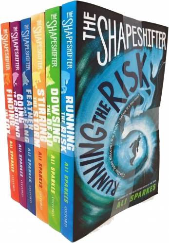 Ali Sparkes Shapeshifter Collection 6 Books Set Pack (Feather and Fang, Finding the Fox, Running the Risk, Going to Ground, Stirring the Storm) by Ali Sparkes