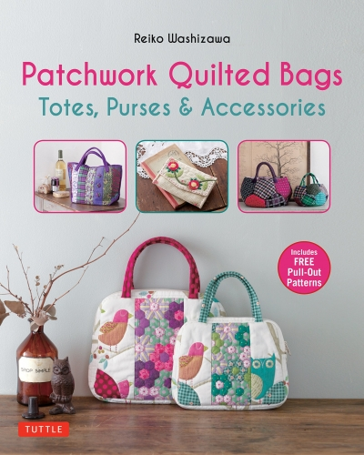 Patchwork Quilted Bags Totes - Purses and Accessories by Reiko Washizawa