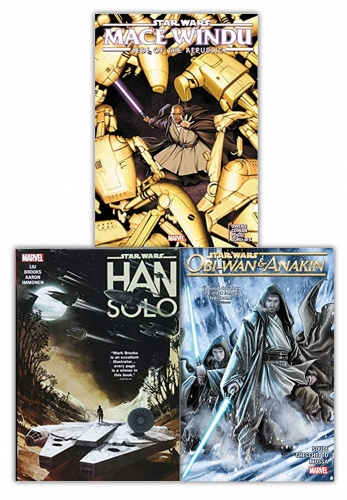 Star Wars 3 Books Collection Set by Various