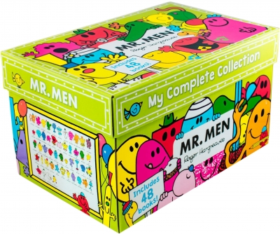 Mr Men My Complete Collection 48 Books Box Set By Roger Hargreaves by Roger Hargreaves