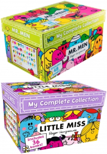 Mr Men and Little Miss The Complete Collection 84 Books Box Set by Roger Hargreaves