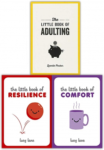 Lucy Lane The Little Book Collection 3 Books Set - Resilience, Comfort, Adulting by Lucy Lane & Quentin Parker
