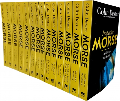 Inspector Morse Mysteries Series Collection Colin Dexter 14 Books Set Pack by Colin Dexter