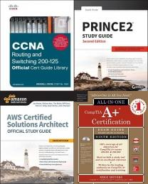 CCNA Routing and Switching 200-125 Official Cert Guide Library, PRINCE2 Study Guide: 2017 Update, AWS Certified Solutions Architect Official Study Guide: Associate , CompTIA A+ Certification All-in-One Exam Guide, Ninth Edition (Exa, CISSP For Dummies (For Dummies (Computer/tech)), Computing Certification Books, Cisco, Computing Books, Study Guide, Networking & Security, Computing Study Guide