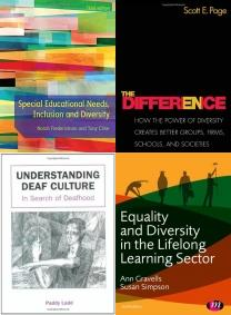 Special Educational Needs, Inclusion and Diversity, The Difference, How the Power of Diversity Creates Better Groups, , Racialisation in Early Years Education: Black Childrenâ??s Stories, Diversity and Intersectionality: Studies in Religion, Education an, Understanding Deaf Culture: In Search of Deafhood, Multicultural Education Books, Bilingual, Equality, Multicultural Education, Inclusion, Multicultural Education, Diversity