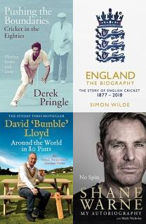 Cricket Books, Over and Out, Sporting Events, Pushing the Boundaries, Remarkable Cricket Grounds, The Captain Class, Cricket, Ball Games, Moeen Ali, No Spin, International, Around the World in 80 Pints