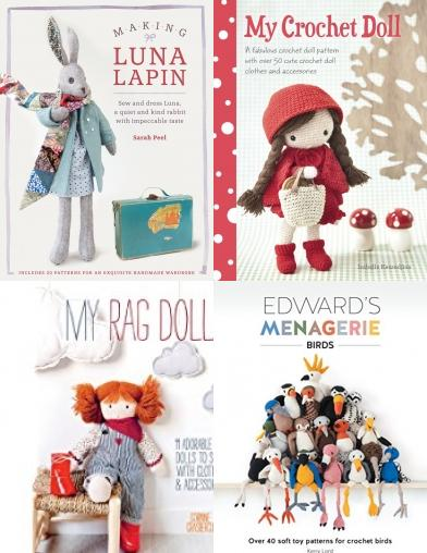 Luna Lapin, Edward Menagerie, My Knitted Doll, ragdoll cat, ragdoll, raggy dolls, doll clothes, Craft Books, Craft Kits, Making Dolls