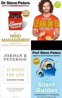 The Chimp Paradox: The Mind Management Programme to Help You Achie, Veggie Lean in 15: 15-minute Veggie Meals with Workouts, 12 Rules for Life: An Antidote to Chaos, The Silent Guides: From the author of The Chimp Paradox, The Art of Being a Brilliant Teenager, All About Me, Best of Mind, Thinking, Body & Spirit Books, Spiritualism, Happy, Meditation, Mind, Motivation, Body, Spirit, Depression, Mental Health, Mindfulness, Mind Management, Rules of Life, Workout,