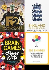 How to Be a Footballer, Taskmaster: 200 Extraordinary Tasks for Ordinary People, Guinness World Records Gamers 2019, The GCHQ Puzzle Book II, The GCHQ Puzzle Book, How to Build a Car: The Autobiography of the Worldâ??s Greatest Fo, F2: World Class: New Book, New Skills! (Skills Book 3), No Spin, Best of Sports, Hobbies & Games, Cricket, Gifts, International, Sports, F2, Hobbies, Puzzles, Quiz, Games, World Records, Guinness, Guinness World Records, Gaming, Football, Hobby, Interests