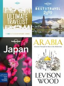 Lonely Planet's Ultimate Travelist: The 500 Best Places on the Pla, East of Croydon: Blunderings through India and South East Asia, Lonely Planet's Best in Travel 2019, Lonely Planet Japan (Travel Guide), Arabia: A Journey Through The Heart of the Middle East, Top 10 New York City: 2019, Best of Travel & Holiday Books, Travel, Holiday, Scotland, Railways, Thailand, India, Atlas, New York, Sri Lanka, Atlas, Abroad, World, Middle East, Asia, Japan, Planets, Geography, Map