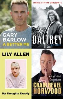 Biographies about Film, Television & Music, Film, Cliff Richard, Television, Entertainment, Michael Caine, Robbie Williams, Gary Barlow, Music, Hollywood, Movie