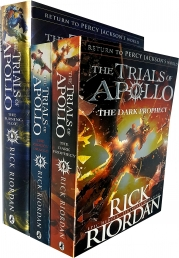 Rick Riordan The Trials of Apollo Series Collection 3 Books Set Photo