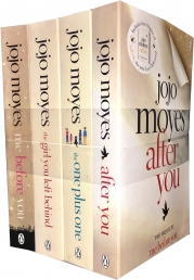 Me Before You Collection 4 Books Set by Jojo Moyes (Me Before You, After You, The One Plus One, The Girl you Left behind) Photo