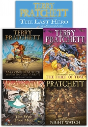 Discworld Novel Series 6 Terry Pratchett Collection 5 Books Set (Book 26-30) Photo