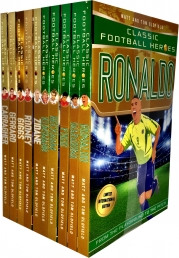 Classic Football Heroes Legend Series Collection 10 Books Set Photo