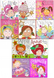 Fairy and Friends Children Picture Flat Collection 10 Books Set in Zip lock Bag by Tim Bugbird