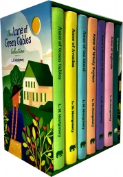 Anne of Green Gables Collection 7 Books Box Set Pack by L M Montgomery Photo