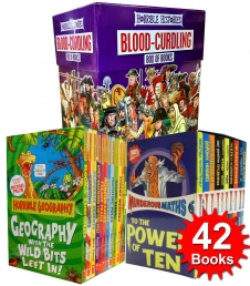Horrible Collection 42 Books Set (Histories, Maths, Geography) Photo