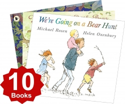 Were going on a bear hunt and Other Stories Collection 10 Books Set by Various